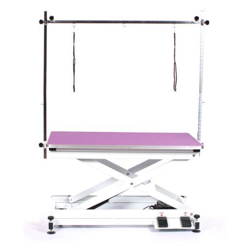 Pedigroom Everest Electric Grooming Table Purple