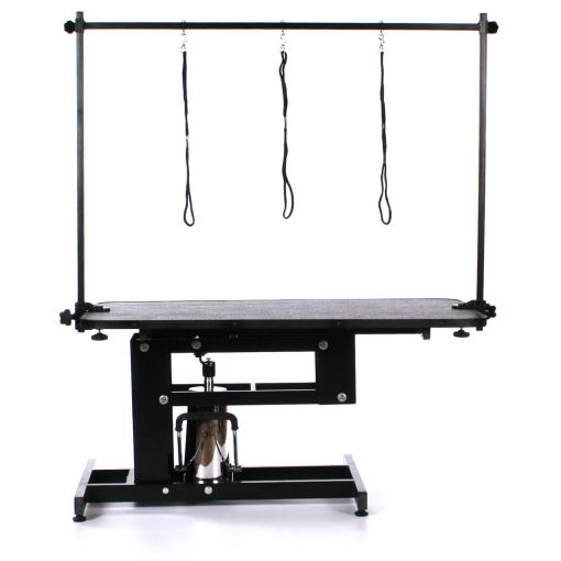 Pedigroom Elite Hydraulic Dog Grooming Table Black