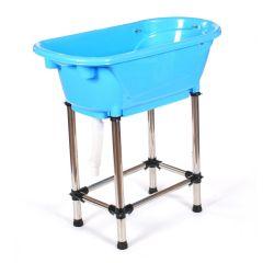 Pedigroom Metro Dog Bath Blue