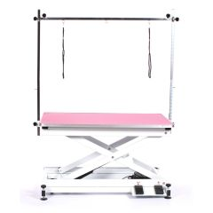 Pedigroom Everest Electric Grooming Table Pink