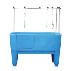 Pedigroom Concorde Dog Bath Blue