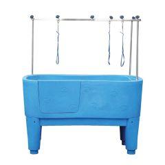 Pedigroom Concorde Dog Bath Blue