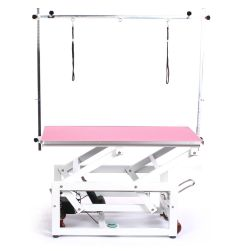 Pedigroom Pro Electric Dog Grooming Table Pink