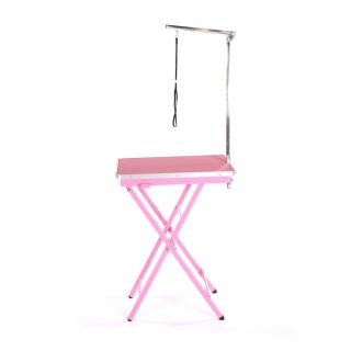 Pedigroom Ring Side Grooming Table Pink