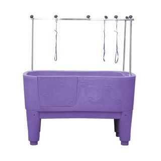 Pedigroom Concorde Dog Bath Purple