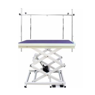 Pedigroom Elite Electric Dog Grooming Table Purple