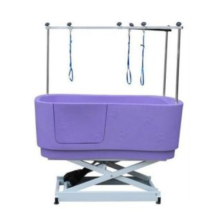 Pedigroom Concorde Electric Dog Bath Purple