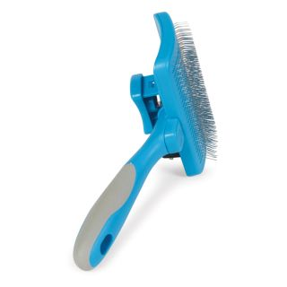 Ancol Ergo Self Cleaning Slicker Brush