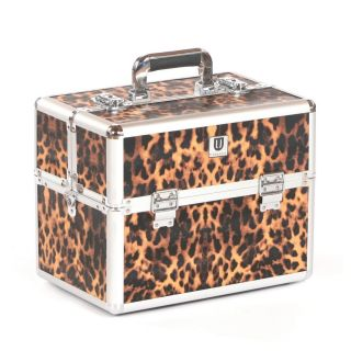 Grooming Tack Box Leopard