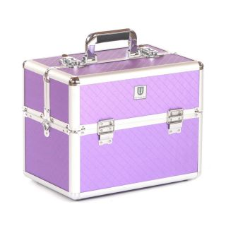 Grooming Tack Box Purple Diamond