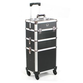 Mobile Grooming Trolley Black