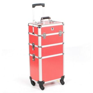 Mobile Grooming Trolley Pink Crocodile