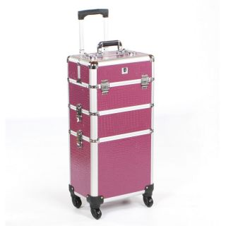 Mobile Grooming Trolley Purple Crocodile