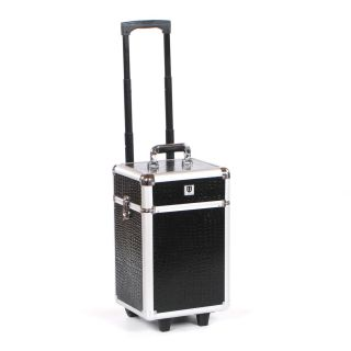 Grooming Trolley Black Crocodile