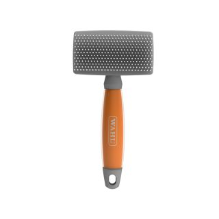 Wahl Large Nylon Slicker Brush Orange Gel Handle