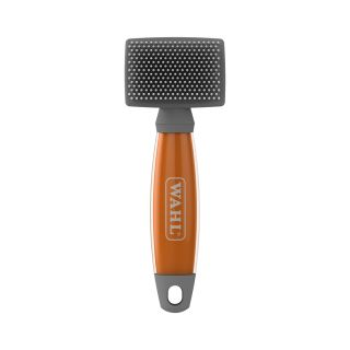 Wahl Small Nylon Slicker Brush Orange Gel Handle