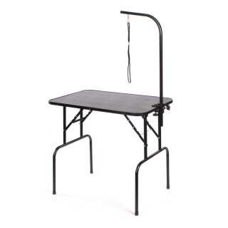 Pedigroom Large Portable Dog Grooming Table Black