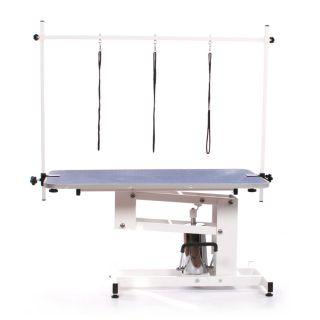 Pedigroom Elite Hydraulic Dog Grooming Table Blue