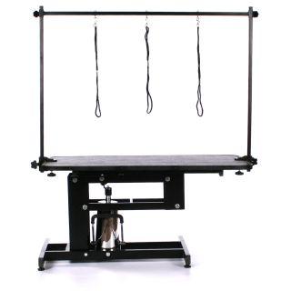 Pedigroom Elite Hydraulic Dog Grooming Table Black