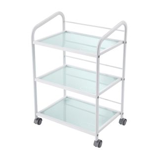 Classic Grooming Salon Trolley White