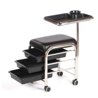 Lumi Grooming Trolley Black