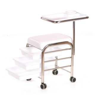 Lumi Grooming Trolley White