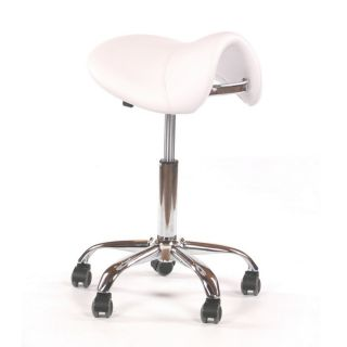 Saddle Grooming Stool White