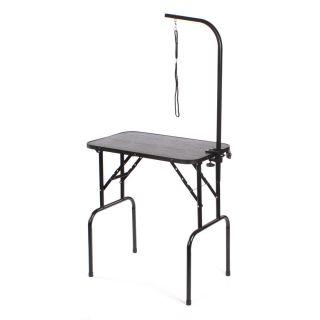 Pedigroom Medium Portable Dog Grooming Table Black